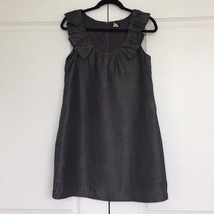 JCrew Dark Gray Sleevless Dress